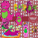 Barney The Dinosaur Digital Paper DP3670 - Digital Paper Shop - 5