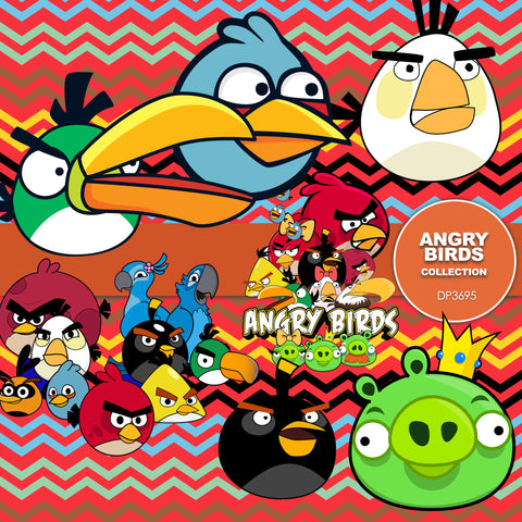Angry Birds Digital Paper DP3695 - Digital Paper Shop - 1