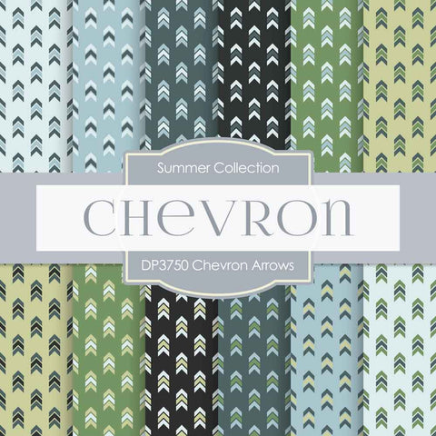 Chevron Arrows Digital Paper DP3750 - Digital Paper Shop - 1