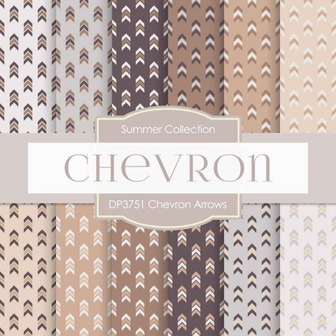 Chevron Arrows Digital Paper DP3751 - Digital Paper Shop - 1