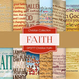 Christian Faith Digital Paper DP3777A - Digital Paper Shop - 1