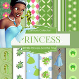 Princess and the Frog Digital Paper DP386 - Digital Paper Shop - 1