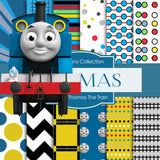 Thomas the Train Digital Paper DP399 - Digital Paper Shop - 1