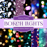 Abstract Bokeh Lights Digital Paper DP4006 - Digital Paper Shop - 1