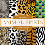 Animal Prints Digital Paper DP4014 - Digital Paper Shop - 1