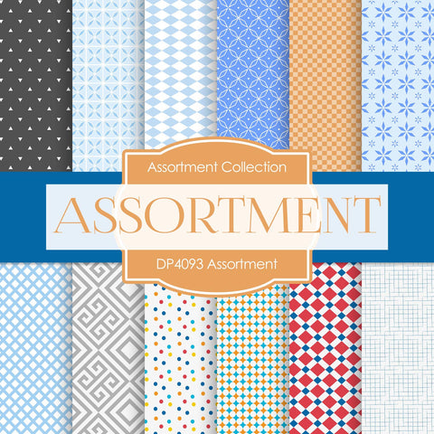 Assortment Digital Paper DP4093 - Digital Paper Shop - 1