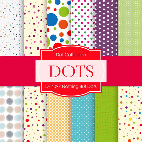 Nothing But Dots Digital Paper DP4097 - Digital Paper Shop - 1