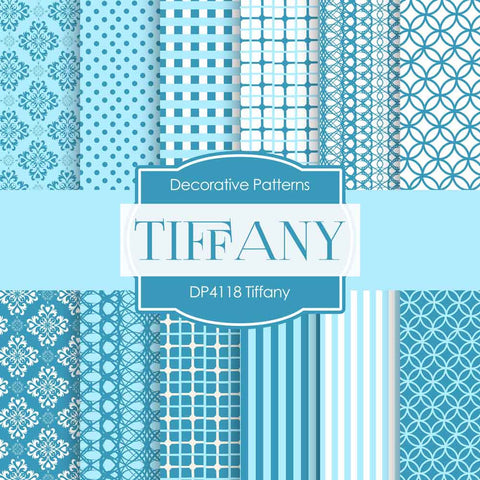 Tiffany Digital Paper DP4118 - Digital Paper Shop - 1