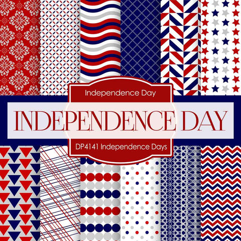 Independence Days Digital Paper DP4141 - Digital Paper Shop - 1