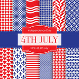 4th July Digital Paper DP4168 - Digital Paper Shop - 1