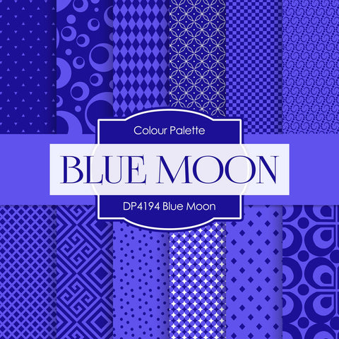 Blue Moon Digital Paper DP4194