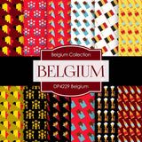 Belgium Digital Paper DP4229 - Digital Paper Shop - 1