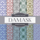 Damask Digital Paper DP423 - Digital Paper Shop - 1