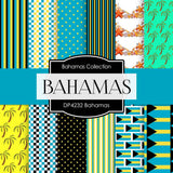 Bahamas Digital Paper DP4232 - Digital Paper Shop - 1