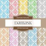 Damask Digital Paper DP424 - Digital Paper Shop - 1