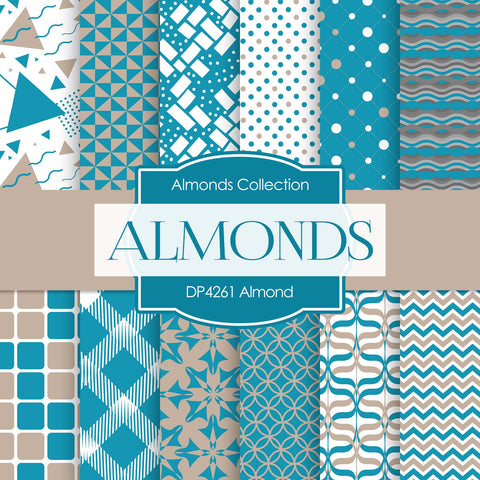 Almond Digital Paper DP4261 - Digital Paper Shop - 1