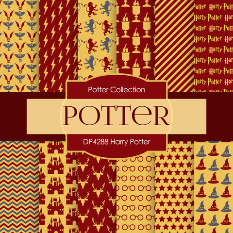 Harry Potter Digital Paper DP4288