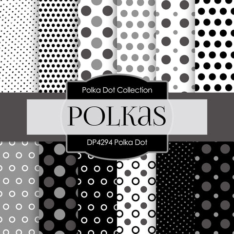 Polka Dot Digital Paper DP4294