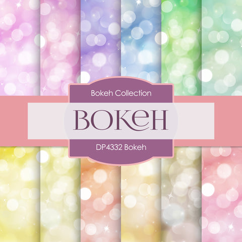 Bokeh Digital Paper DP4332