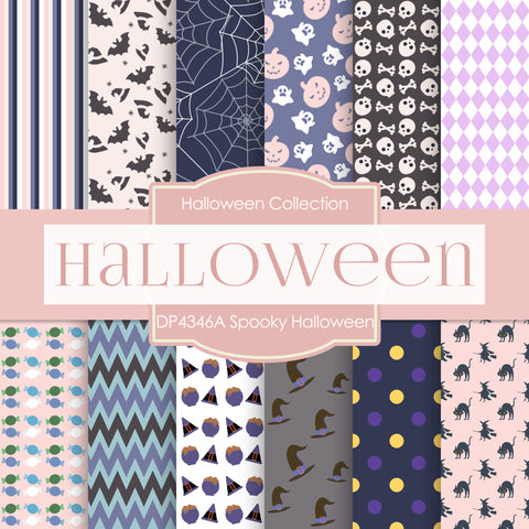 Halloween Papers Tagged Colour Wheel Indigo Digital Paper Shop