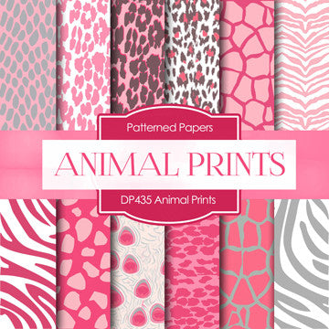 Animal Prints Digital Paper DP435 - Digital Paper Shop - 1