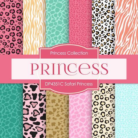 Safari Princess Digital Paper DP4351C