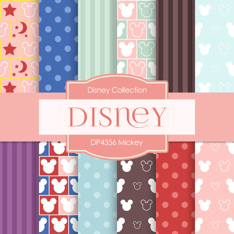 Mickey Digital Paper DP4356A