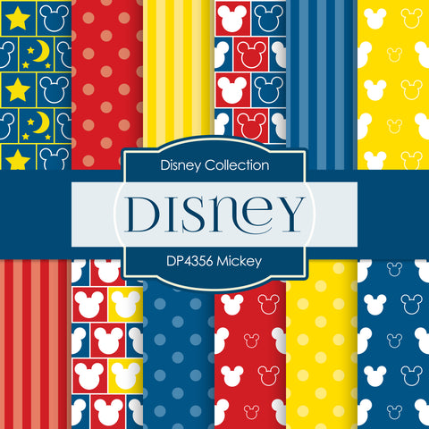 Mickey Digital Paper DP4356