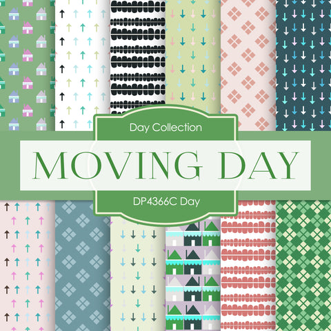 Moving Day Digital Paper DP4366C