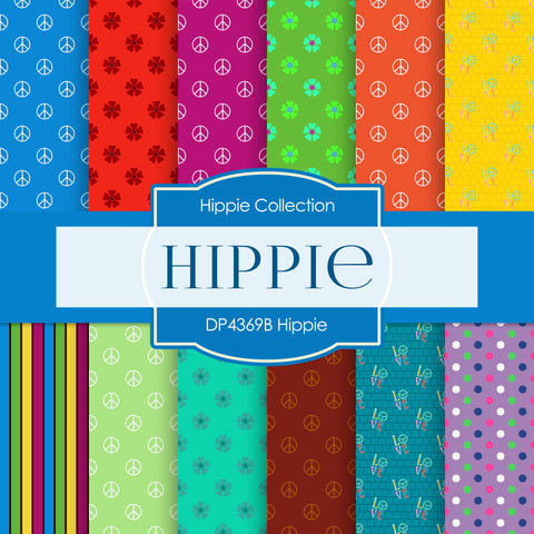 Hippie Digital Paper DP4369B