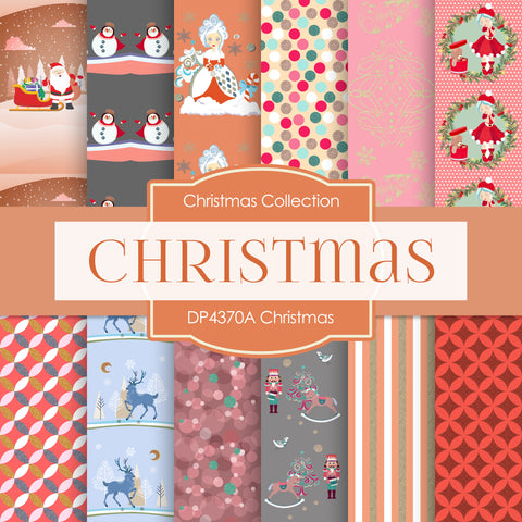 Christmas Papers Digital Paper DP4370A