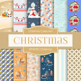 Christmas Papers Digital Paper DP4370C
