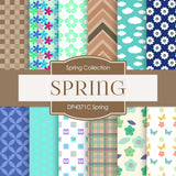 Spring Digital Paper DP4371C