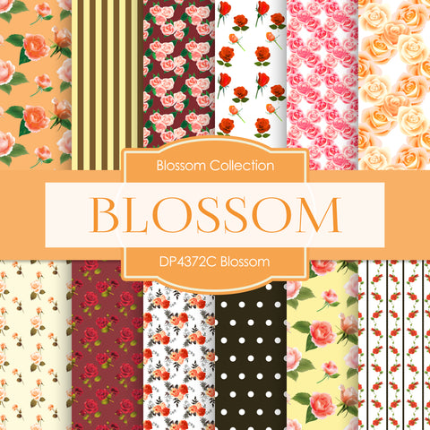 Blossom Digital Paper DP4372C