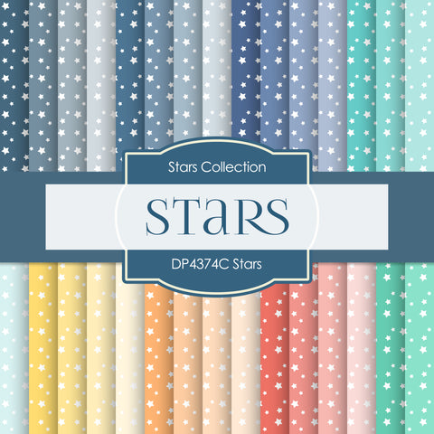 Stars Digital Paper DP4374C