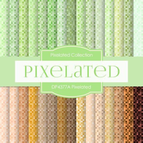 Pixelated Digital Paper DP4377A