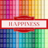Double Happiness Digital Paper DP4396