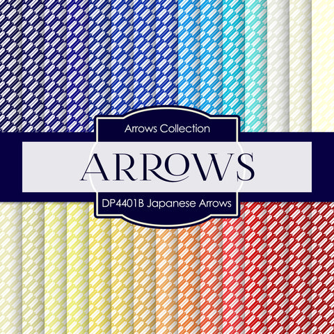 Japanese Arrows Digital Paper DP4401B