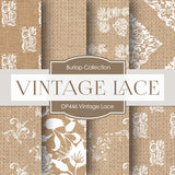 Vintage Lace Digital Paper DP446 - Digital Paper Shop - 1