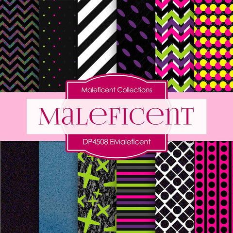 Maleficent Digital Paper DP4508 - Digital Paper Shop - 1