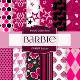 Barbie Digital Paper DP4509 - Digital Paper Shop - 1