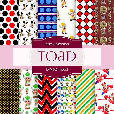 Toad Digital Paper DP4524 - Digital Paper Shop - 1