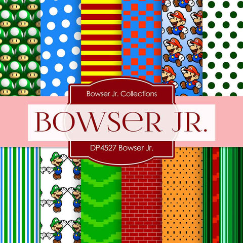 Bowser Jr Paper DP4527 - Digital Paper Shop - 1