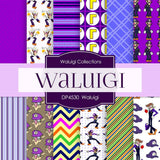 Waluigi Digital Paper DP4530 - Digital Paper Shop - 1