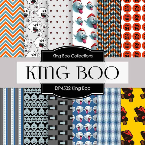 King Boo Digital Paper DP4532 - Digital Paper Shop - 1