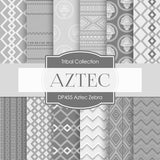 Aztec Zebra Digital Paper DP455 - Digital Paper Shop - 1
