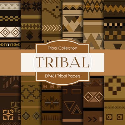 Tribal Papers Digital Paper DP461 - Digital Paper Shop - 1
