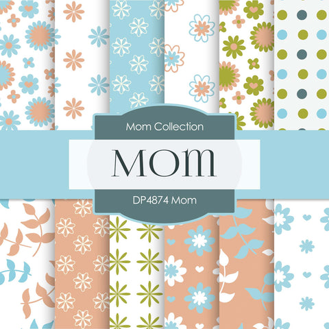 Mom Digital Paper DP4874 - Digital Paper Shop - 1