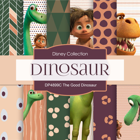The Good Dinosaur Digital Paper DP4899C - Digital Paper Shop - 1