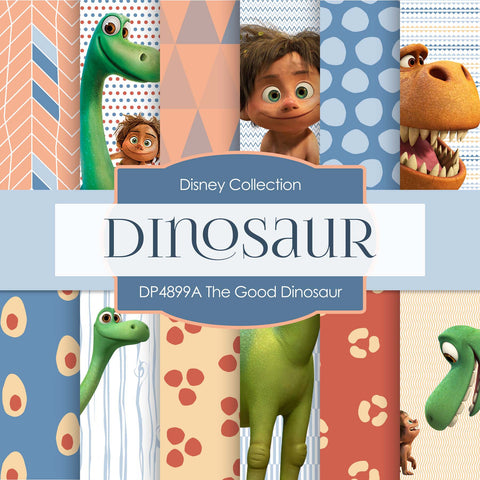 The Good Dinosaur Digital Paper DP4899A - Digital Paper Shop - 1